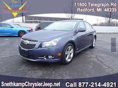 2013 Chevrolet Cruze 2LT Manual Sedan