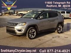 New 2019 Jeep Compass LIMITED 4X4 Sport Utility in Redford, MI near Detroit