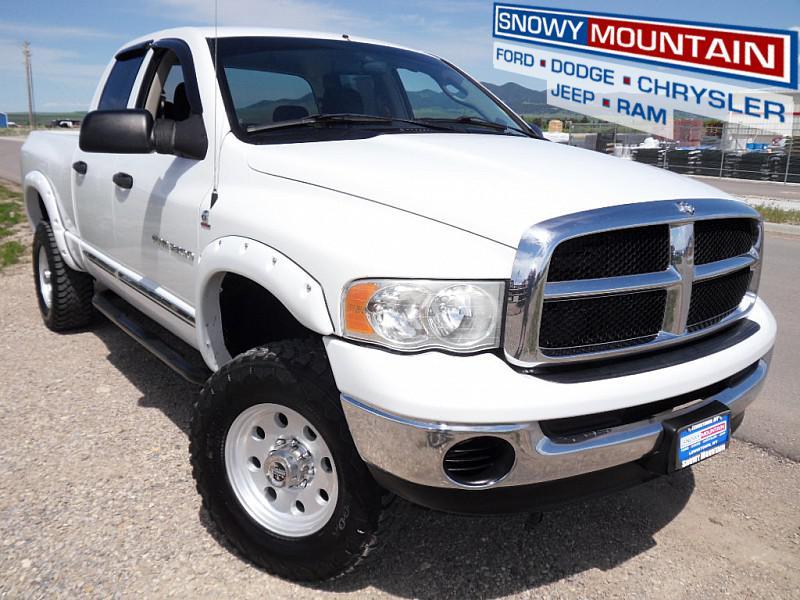 2005 Dodge Ram 2500 4WD SLT Full Size Truck