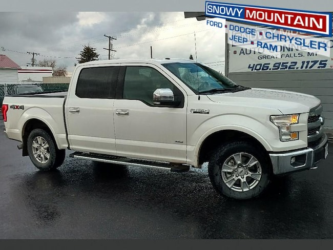 2017 Ford F150 4WD Lariat Full Size Truck