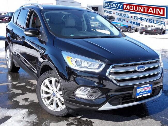 2017 Ford Escape Titanium Compact SUV