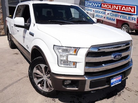 2015 Ford F150 4WD King Ranch Full Size Truck