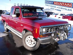 1988 Ford Ranger 4WD Supercab Compact Truck