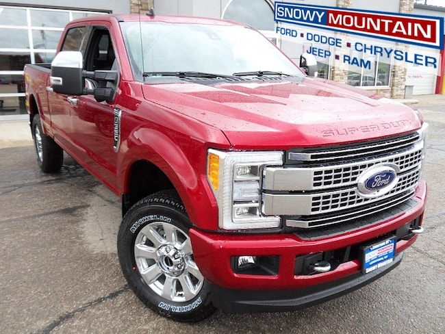 2019 Ford F350 4WD Platinum Full Size Truck