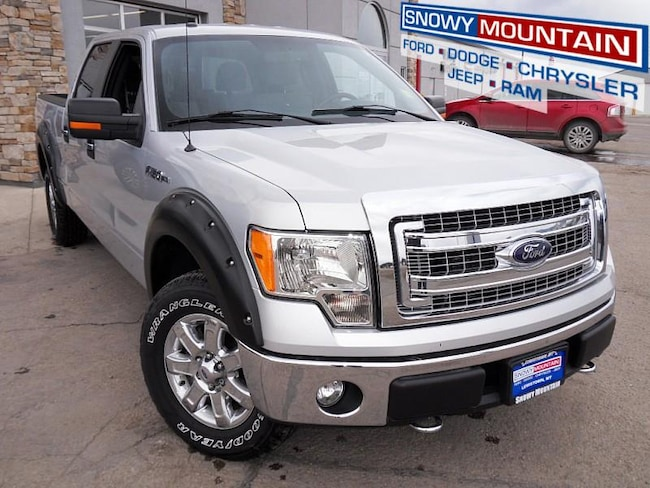 2013 Ford F150 4WD XLT Full Size Truck