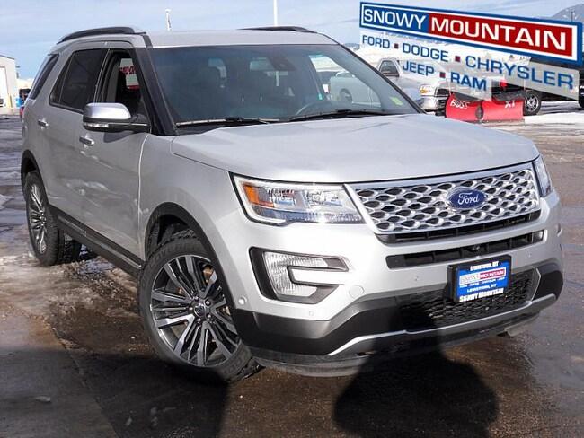 2016 Ford Explorer Platinum Full Size SUV