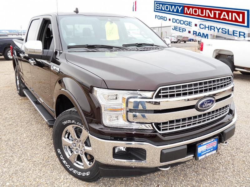 2018 Ford F150 4WD LARIAT Full Size Truck