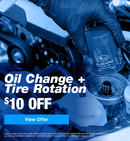 Oil Change + Tire Rotation