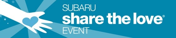Get a great vehicle and Subaru will donate $250 to a choice of charities that benefit your community.