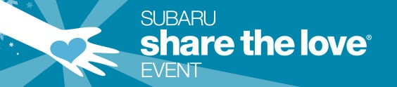 Bought a Subaru during 2018 Subaru Share the Love Event? Select your charity by 1/31.