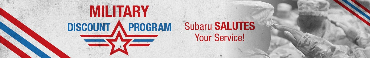 Subaru Military Incentive Program