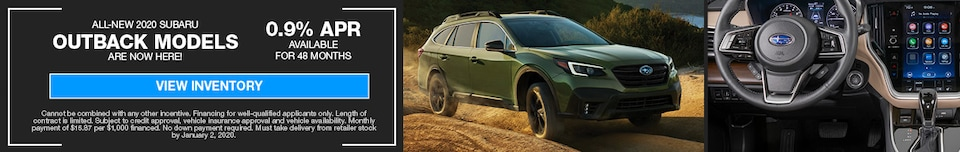 New 2020 Subaru Outback Are Here