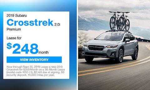 New 2019 Subaru Crosstrek