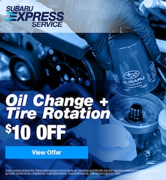 $10 Off Oil Change and Tire Rotation