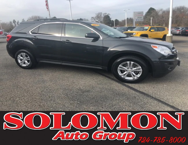 Used 2014 Chevrolet Equinox LT w/1LT SUV For Sale Brownsville, PA