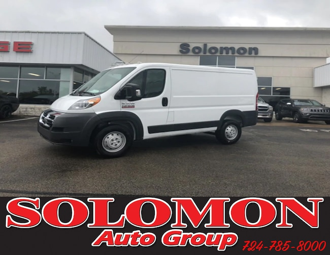 New 2018 Ram ProMaster 1500 CARGO VAN LOW ROOF 118 WB Cargo Van For Sale/Lease Brownsville PA