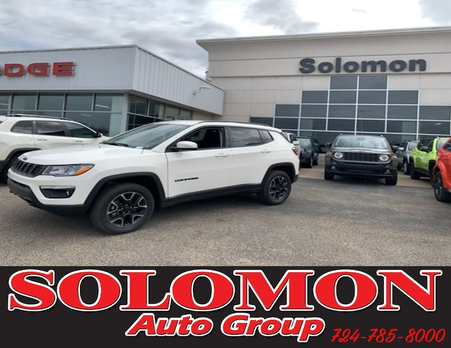 New 2019 Jeep Compass UPLAND 4X4 Sport Utility For Sale/Lease Brownsville PA