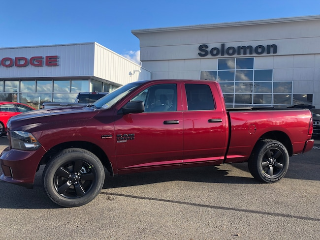 New 2019 Ram 1500 TRADESMAN QUAD CAB 4X4 Quad Cab For Sale/Lease Brownsville PA