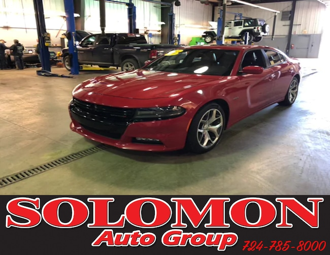 Certified Pre Owned 2015 Dodge Charger R/T Sedan For Sale Brownsville PA