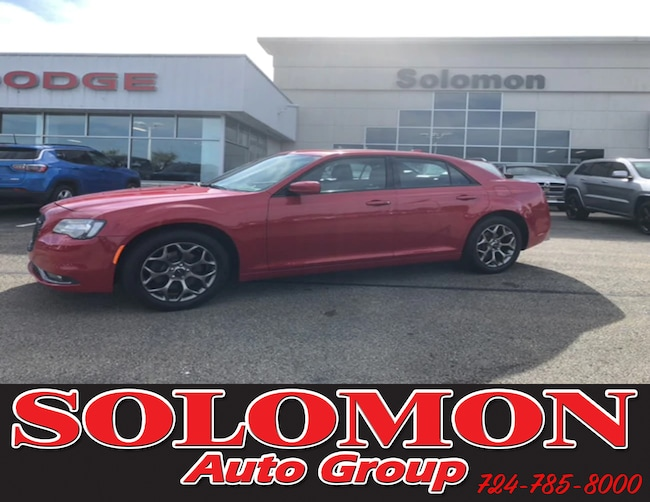 Certified Pre Owned 2016 Chrysler 300 S AWD Sedan For Sale Brownsville PA