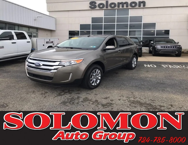 Used 2013 Ford Edge SEL AWD SUV For Sale Brownsville, PA