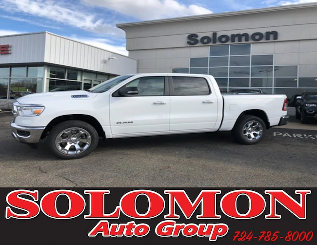 New 2019 Ram 1500 BIG HORN / LONE STAR CREW CAB 4X4 5'7 BOX Crew Cab For Sale/Lease Brownsville PA