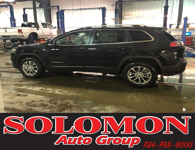 New 2019 Jeep Cherokee LATITUDE PLUS 4X4 Sport Utility For Sale/Lease Brownsville PA
