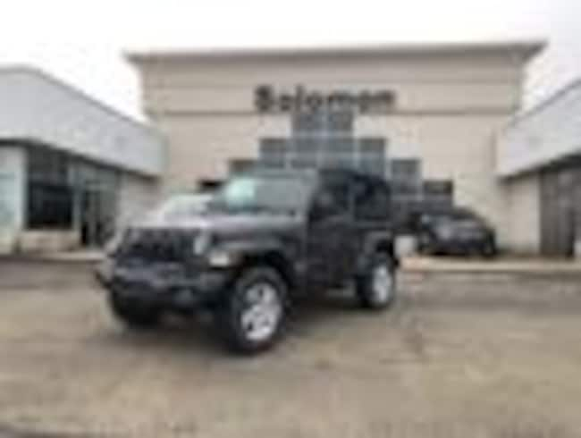 New 2018 Jeep Wrangler SPORT S 4X4 Sport Utility For Sale/Lease Brownsville PA