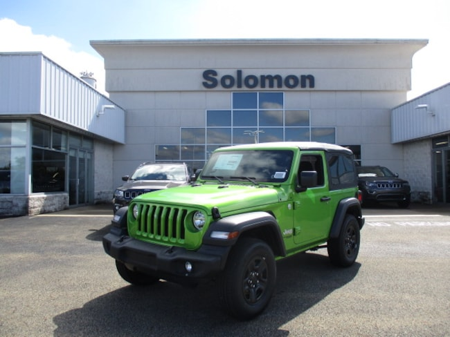 New 2018 Jeep Wrangler SPORT 4X4 Sport Utility For Sale/Lease Brownsville PA
