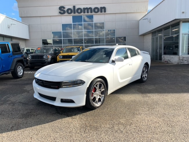 Certified Pre Owned 2015 Dodge Charger SXT Sedan For Sale Brownsville PA