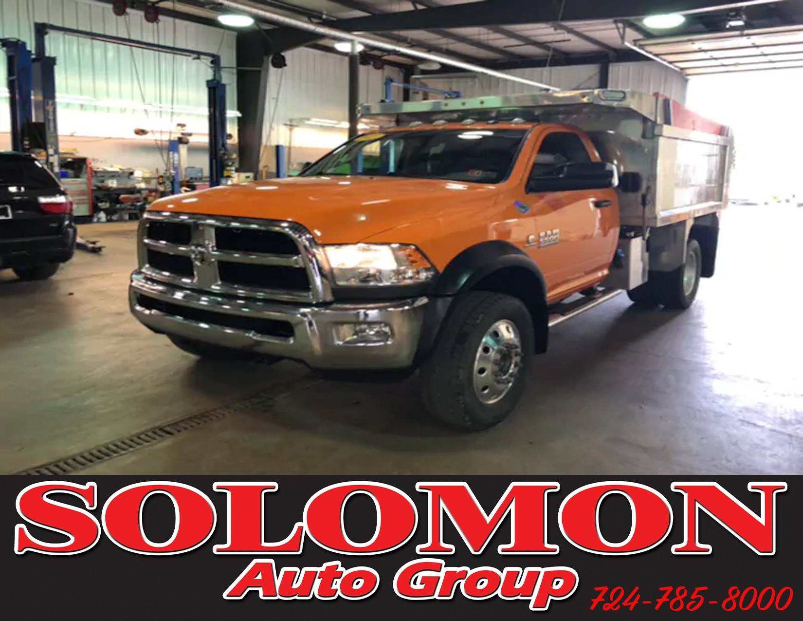 2015 Ram 5500 Chassis Tradesman/SLT Chassis Truck