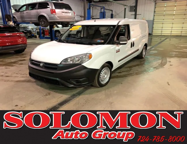 Certified Pre Owned 2017 Ram ProMaster City TRADESMAN Van For Sale Brownsville PA