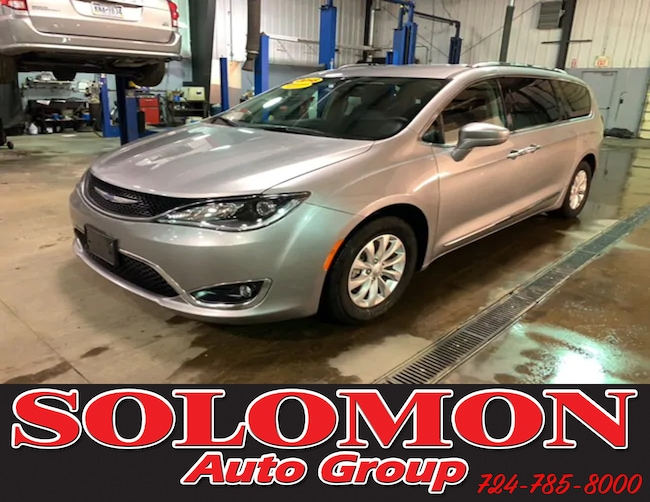 Certified Pre Owned 2018 Chrysler Pacifica Touring L Passenger Van For Sale Brownsville PA