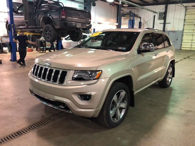 2015 Jeep Grand Cherokee Overland 4x4 SUV