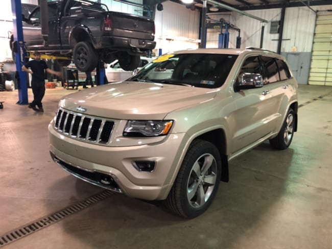used 2015 jeep grand cherokee overland 4x4 for sale brownsville pa stock 8e965a. Black Bedroom Furniture Sets. Home Design Ideas