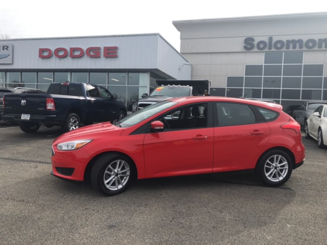 Used 2015 Ford Focus SE Hatchback For Sale Brownsville, PA
