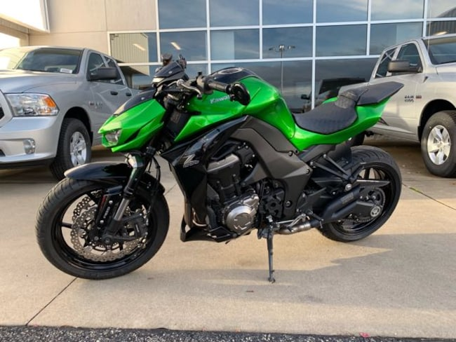 Used 2015 Kawasaki Z1000 ABS MOTORCYCLE For Sale Brownsville, PA