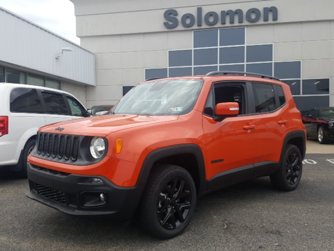 New 2018 Jeep Renegade ALTITUDE 4X4 Sport Utility For Sale/Lease Brownsville PA