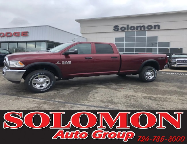 New 2018 Ram 2500 TRADESMAN CREW CAB 4X4 8' BOX Crew Cab For Sale/Lease Brownsville PA