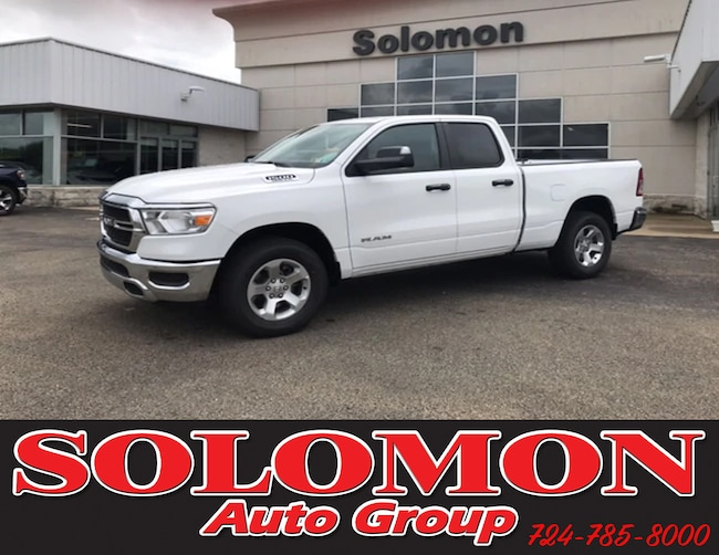 New 2019 Ram 1500 TRADESMAN QUAD CAB 4X4 6'4 BOX Quad Cab For Sale/Lease Brownsville PA