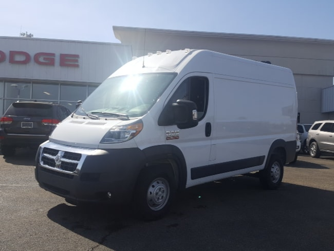 New 2018 Ram ProMaster 1500 CARGO VAN HIGH ROOF 136 WB Cargo Van For Sale/Lease Brownsville PA