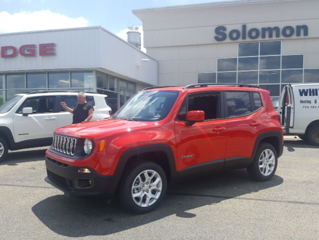 New 2018 Jeep Renegade LATITUDE 4X4 Sport Utility For Sale/Lease Brownsville PA