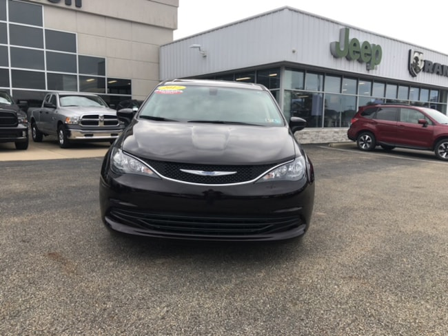 Certified Pre Owned 2017 Chrysler Pacifica LX Passenger Van For Sale Brownsville PA