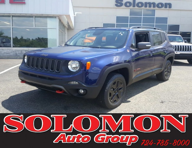 New 2018 Jeep Renegade TRAILHAWK 4X4 Sport Utility For Sale/Lease Brownsville PA