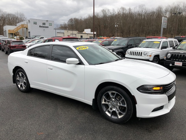Certified Pre-Owned 2016 Dodge Charger RALLYE PREMIUM AWD Sedan For Sale Carmichaels, PA