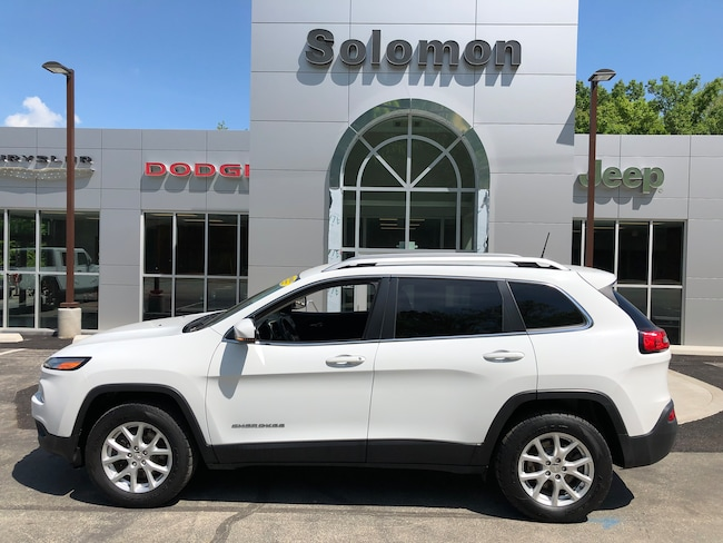 Certified Pre-Owned 2017 Jeep Cherokee Latitude 4X4 SUV For Sale Carmichaels, PA
