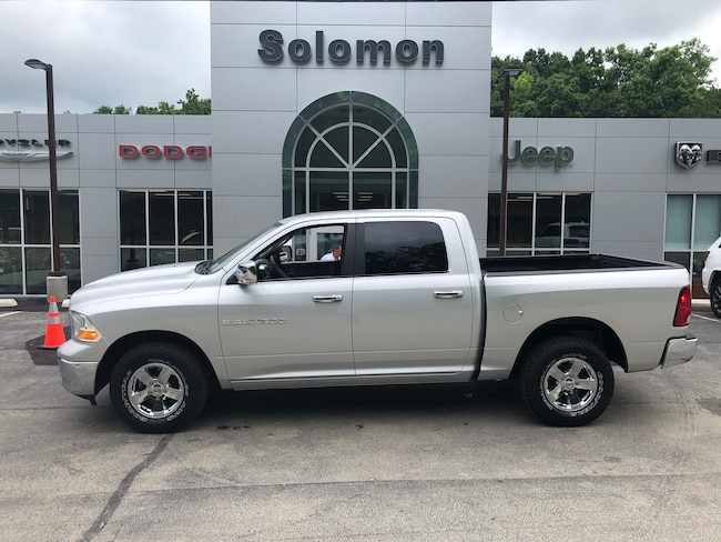 Used 2011 Ram 1500 Crew Cab SLT 4X4 Crew Cab Short Bed Truck For Sale Carmichaels, PA