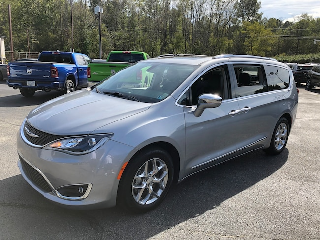 certified pre owned 2018 chrysler pacifica limited for sale carmichaels pa near waynesburg. Black Bedroom Furniture Sets. Home Design Ideas