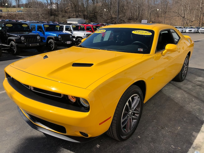 Certified Pre-Owned 2018 Dodge Challenger GT PLUS AWD For