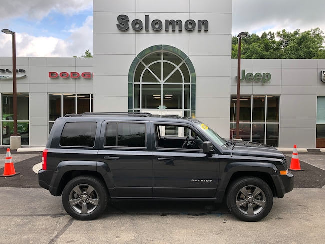 Certified Pre-Owned 2015 Jeep Patriot High Altitude 4X4 SUV For Sale Carmichaels, PA